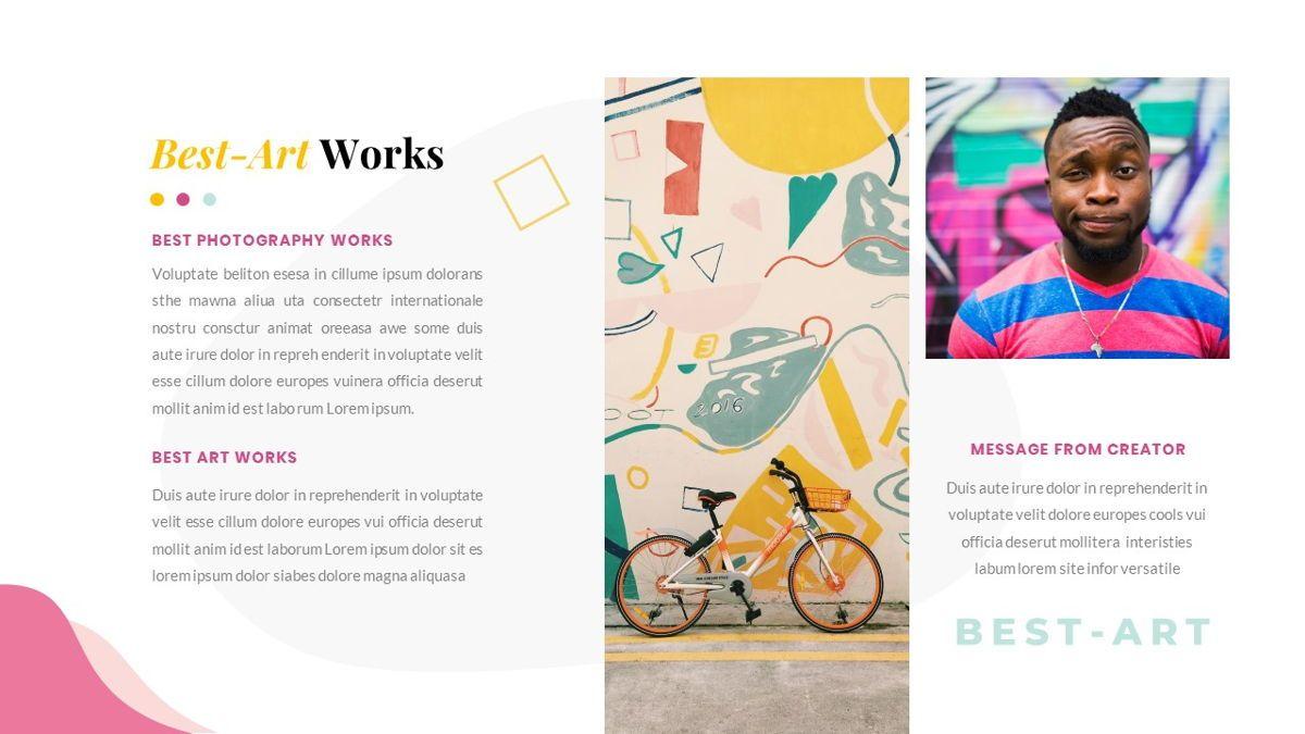 Best-Part – Creative Business Pop Art Keynote Template, Slide 28, 06841, Presentation Templates — PoweredTemplate.com