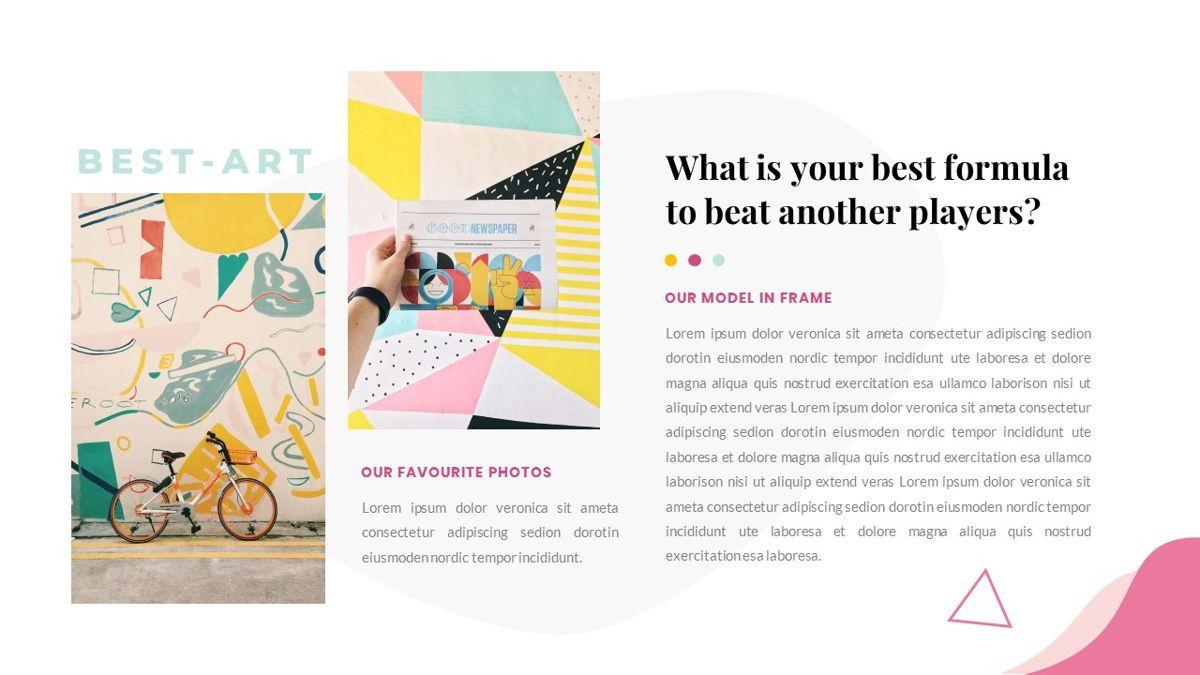 Best-Part – Creative Business Pop Art Keynote Template, Slide 29, 06841, Presentation Templates — PoweredTemplate.com