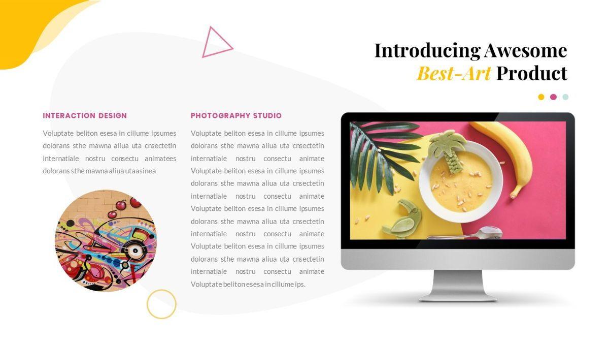 Best-Part – Creative Business Pop Art Keynote Template, Slide 31, 06841, Presentation Templates — PoweredTemplate.com