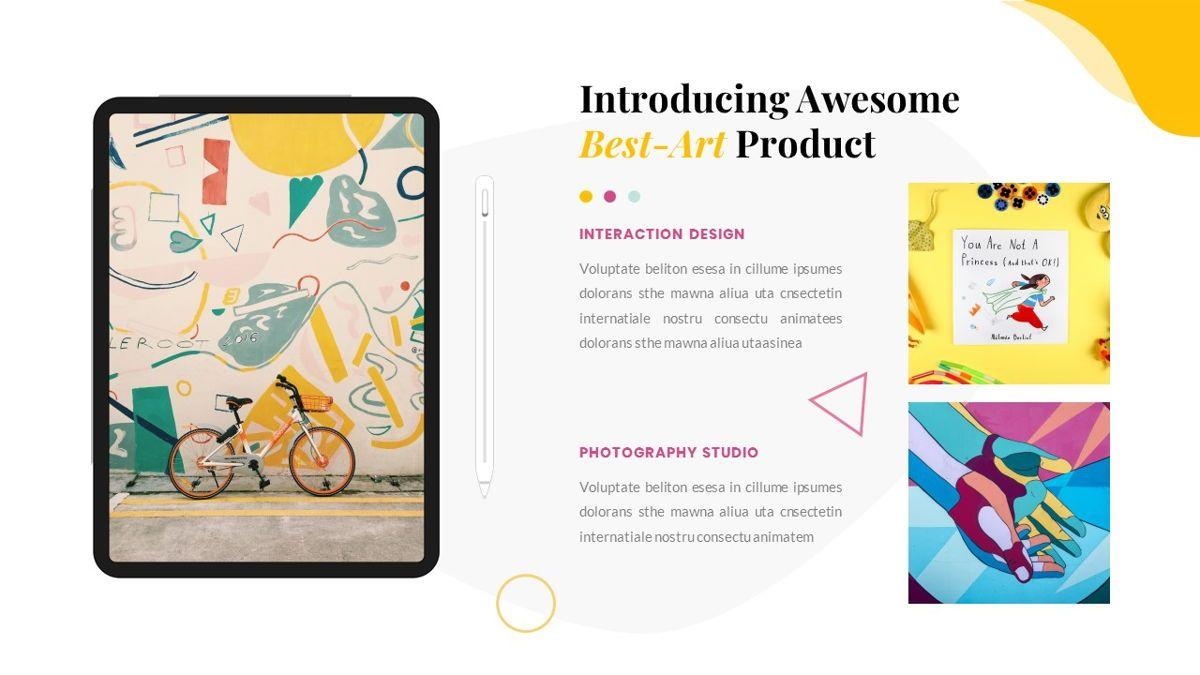 Best-Part – Creative Business Pop Art Keynote Template, Slide 32, 06841, Presentation Templates — PoweredTemplate.com