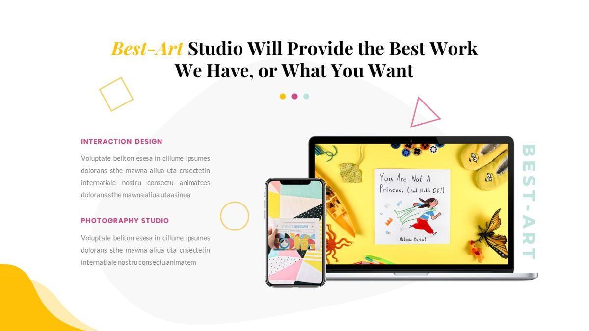 Best-Part – Creative Business Pop Art Keynote Template, Slide 33, 06841, Presentation Templates — PoweredTemplate.com