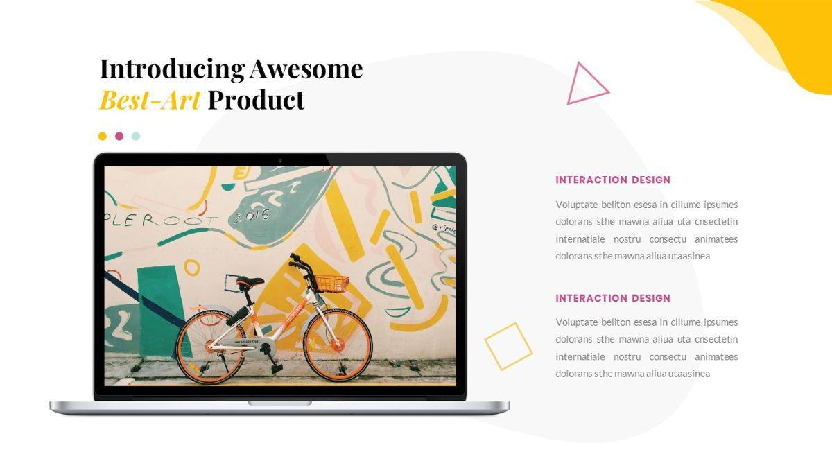 Best-Part – Creative Business Pop Art Keynote Template, Slide 34, 06841, Presentation Templates — PoweredTemplate.com