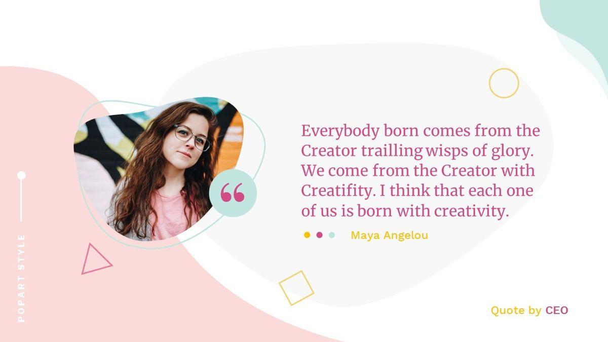 Best-Part – Creative Business Pop Art Keynote Template, Slide 35, 06841, Presentation Templates — PoweredTemplate.com