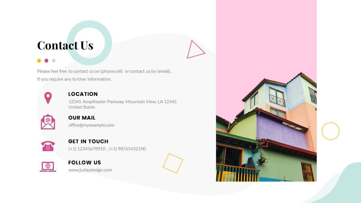 Best-Part – Creative Business Pop Art Keynote Template, Slide 39, 06841, Presentation Templates — PoweredTemplate.com
