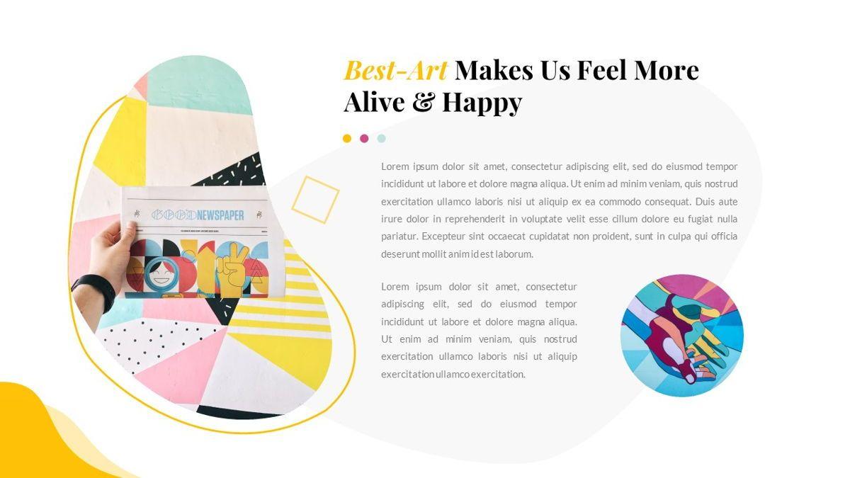Best-Part – Creative Business Pop Art Keynote Template, Slide 6, 06841, Presentation Templates — PoweredTemplate.com