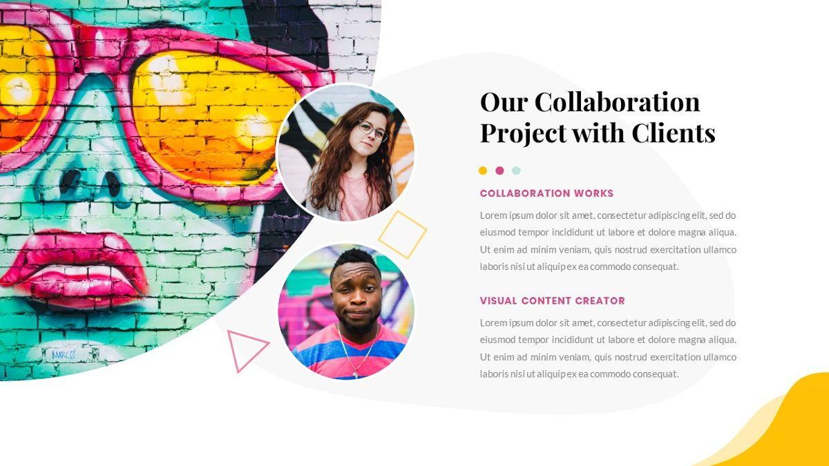 Best-Part – Creative Business Pop Art Keynote Template, Slide 8, 06841, Presentation Templates — PoweredTemplate.com