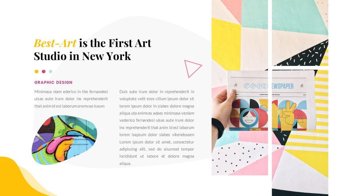 Best-Part – Creative Business Pop Art Keynote Template, Slide 9, 06841, Presentation Templates — PoweredTemplate.com