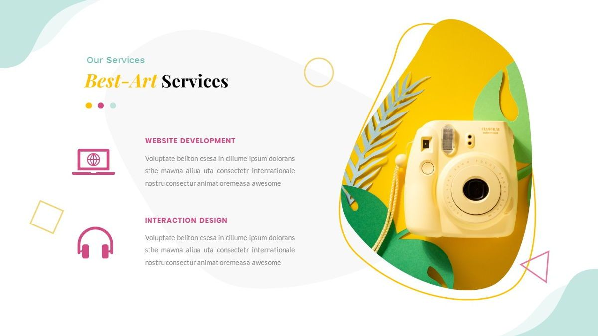 Best-Part – Creative Business Google Slides Template, Slide 18, 06842, Presentation Templates — PoweredTemplate.com