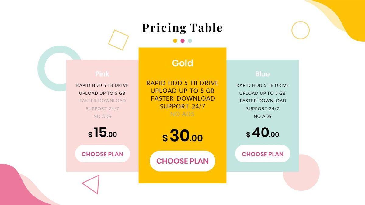 Best-Part – Creative Business Google Slides Template, Slide 37, 06842, Presentation Templates — PoweredTemplate.com