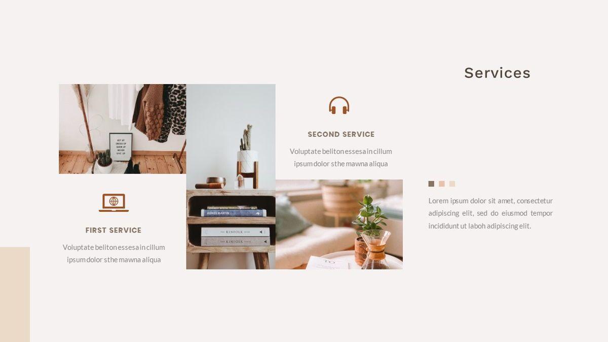 Gadies – Creative Business PowerPoint Template, Slide 19, 06843, Presentation Templates — PoweredTemplate.com