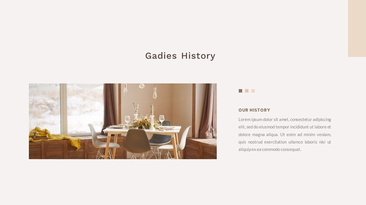 Gadies – Creative Business PowerPoint Template, Slide 3, 06843, Presentation Templates — PoweredTemplate.com