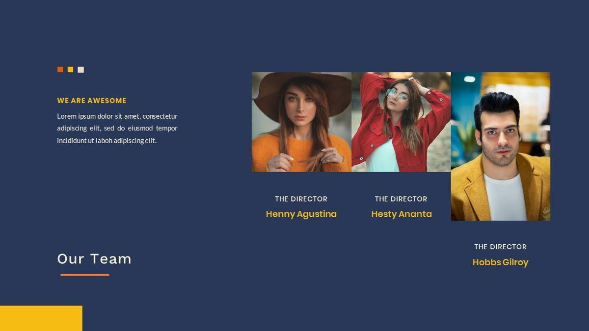 Kikie – Creative Business Elegant PowerPoint Template, Slide 12, 06846, Presentation Templates — PoweredTemplate.com