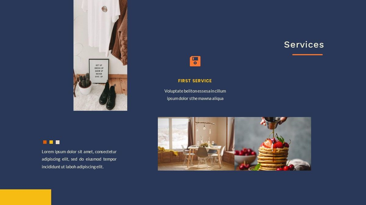 Kikie – Creative Business Elegant PowerPoint Template, Slide 18, 06846, Presentation Templates — PoweredTemplate.com