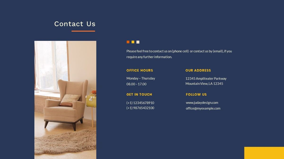 Kikie – Creative Business Elegant PowerPoint Template, Slide 37, 06846, Presentation Templates — PoweredTemplate.com