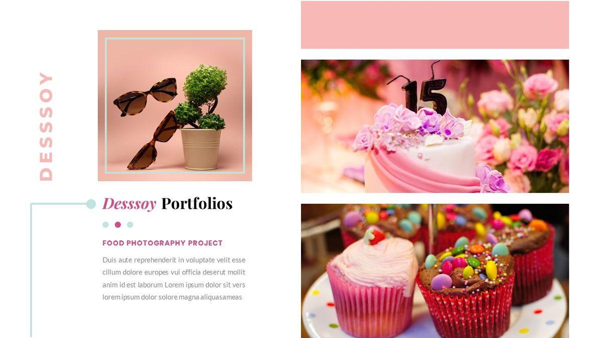 Desssoy – Creative Business PowerPoint Template, Slide 24, 06848, Presentation Templates — PoweredTemplate.com