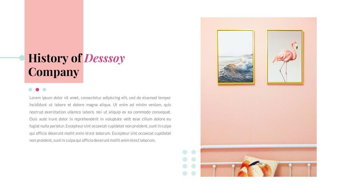 Desssoy – Creative Business PowerPoint Template, Slide 3, 06848, Presentation Templates — PoweredTemplate.com