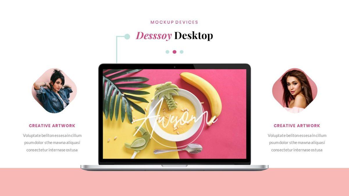 Desssoy – Creative Business PowerPoint Template, Slide 33, 06848, Presentation Templates — PoweredTemplate.com