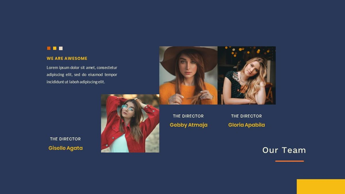 Kikie – Creative Business Elegant Google Slides Template, Slide 13, 06849, Presentation Templates — PoweredTemplate.com