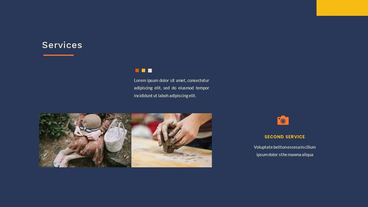 Kikie – Creative Business Elegant Google Slides Template, Slide 19, 06849, Presentation Templates — PoweredTemplate.com