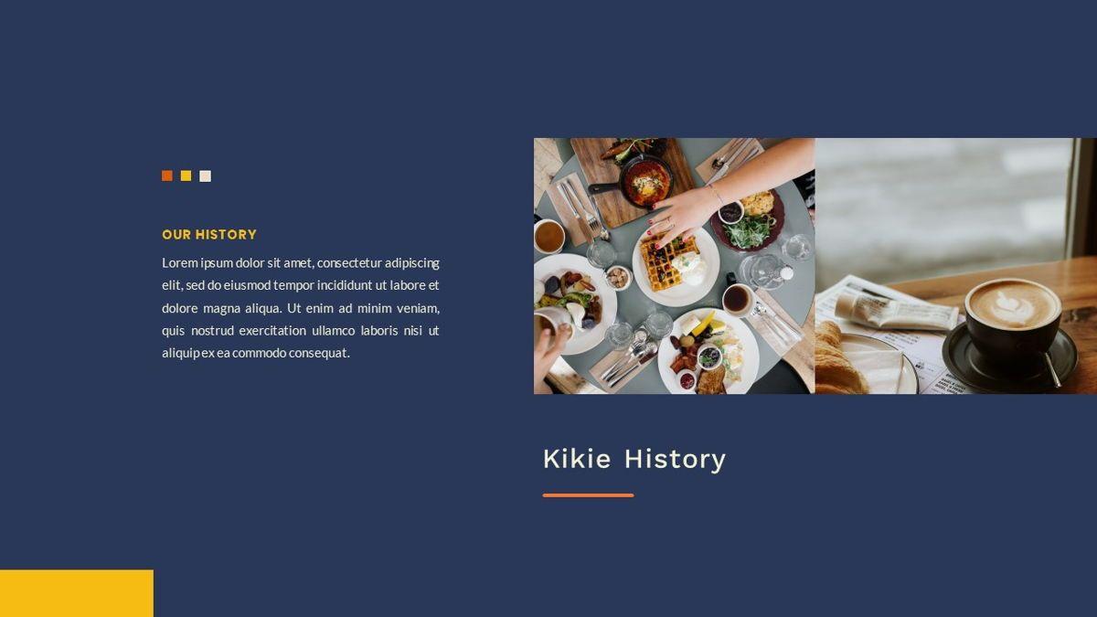 Kikie – Creative Business Elegant Google Slides Template, Slide 3, 06849, Presentation Templates — PoweredTemplate.com