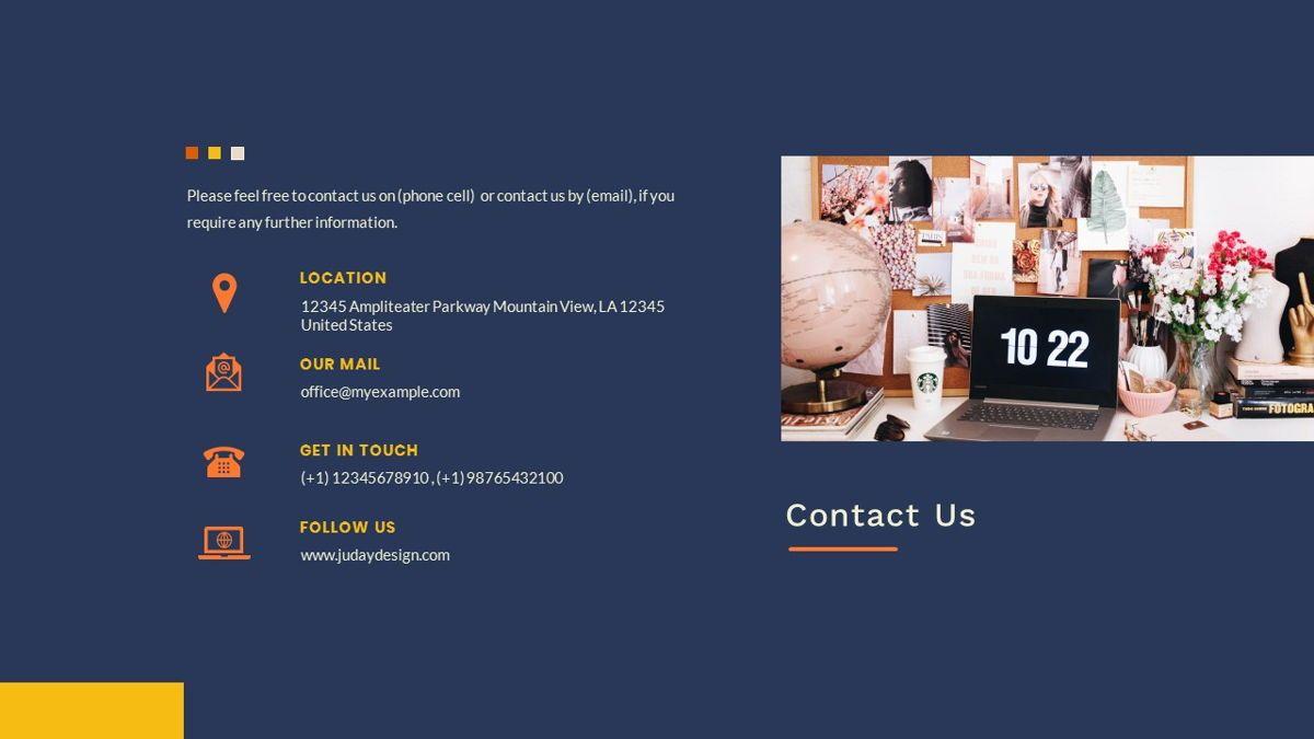 Kikie – Creative Business Elegant Google Slides Template, Slide 38, 06849, Presentation Templates — PoweredTemplate.com