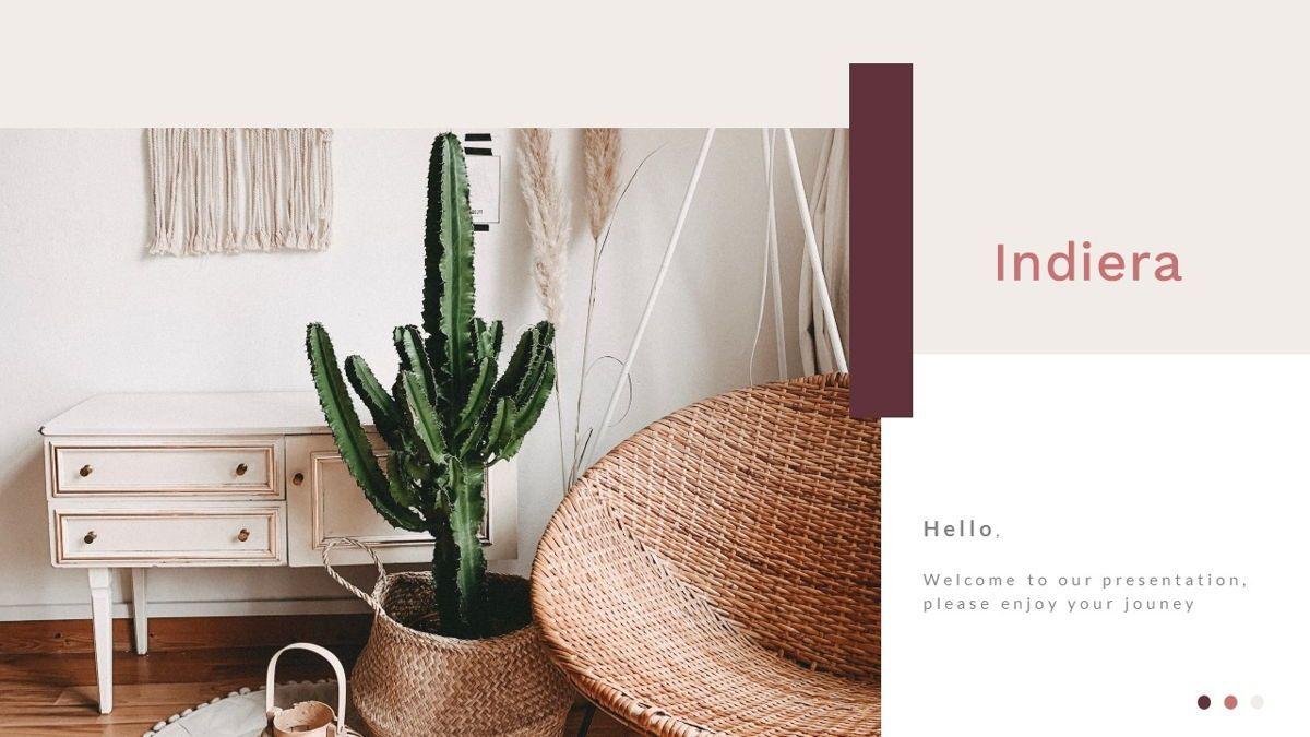 Indiera – Creative Business PowerPoint Template, 06850, Presentation Templates — PoweredTemplate.com