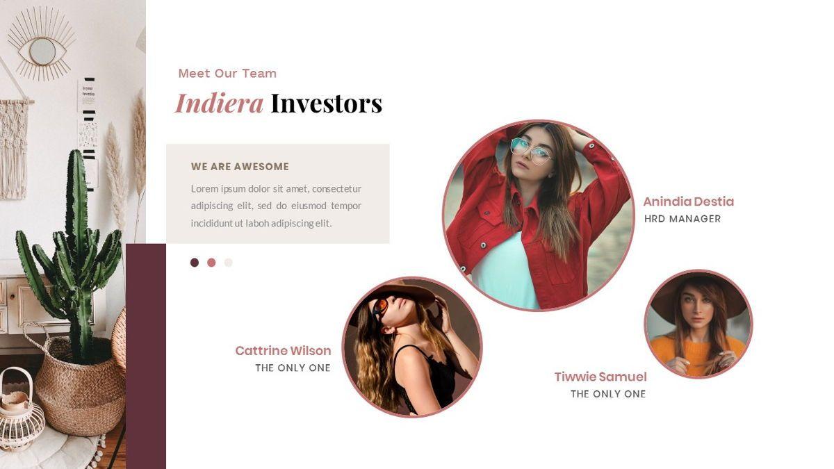 Indiera – Creative Business PowerPoint Template, Slide 10, 06850, Presentation Templates — PoweredTemplate.com