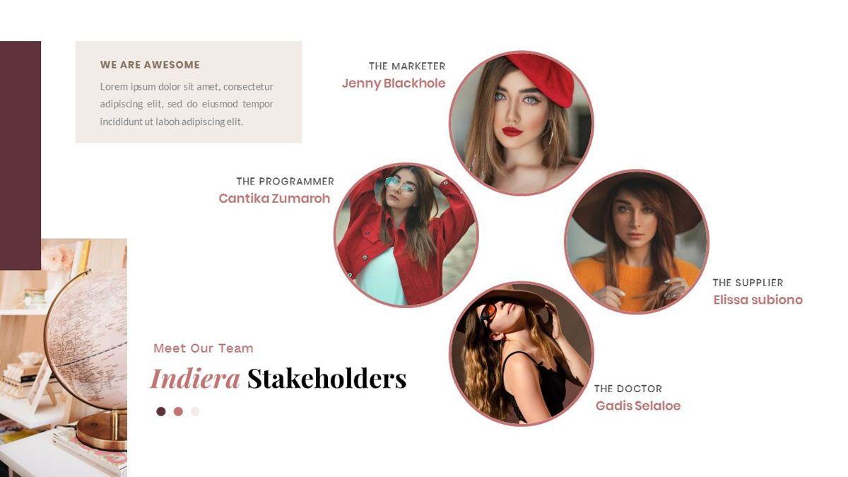 Indiera – Creative Business PowerPoint Template, Slide 11, 06850, Presentation Templates — PoweredTemplate.com