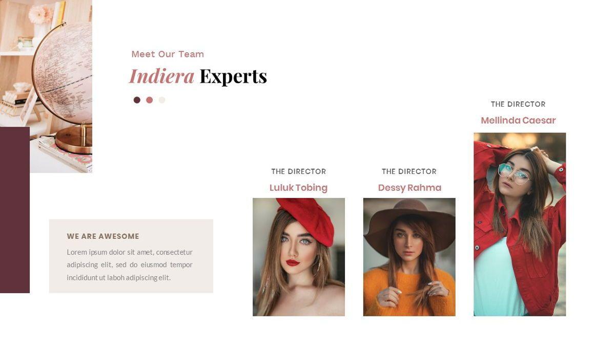Indiera – Creative Business PowerPoint Template, Slide 14, 06850, Presentation Templates — PoweredTemplate.com