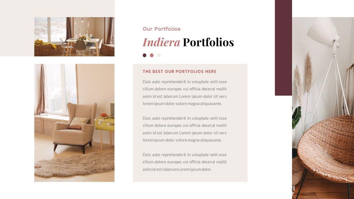 Indiera – Creative Business PowerPoint Template, Slide 22, 06850, Presentation Templates — PoweredTemplate.com