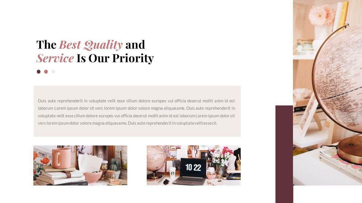 Indiera – Creative Business PowerPoint Template, Slide 23, 06850, Presentation Templates — PoweredTemplate.com