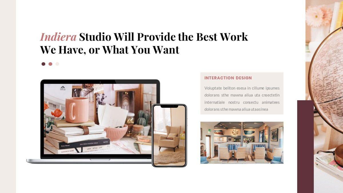 Indiera – Creative Business PowerPoint Template, Slide 29, 06850, Presentation Templates — PoweredTemplate.com