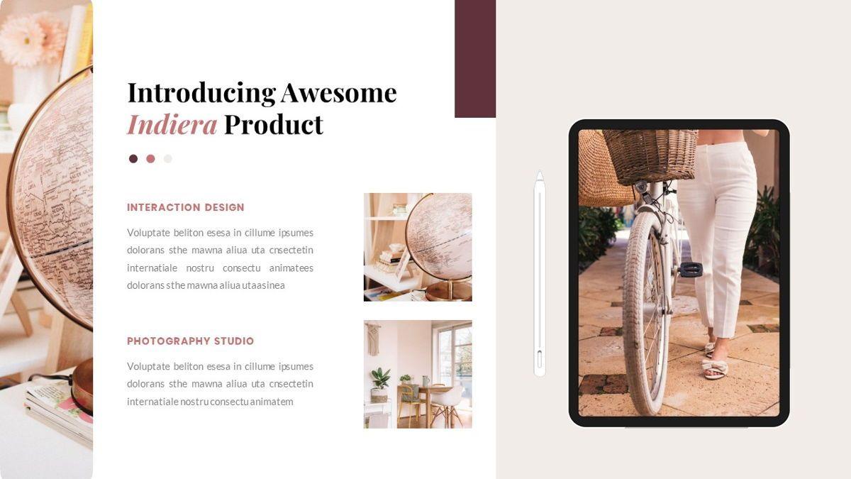 Indiera – Creative Business PowerPoint Template, Slide 31, 06850, Presentation Templates — PoweredTemplate.com
