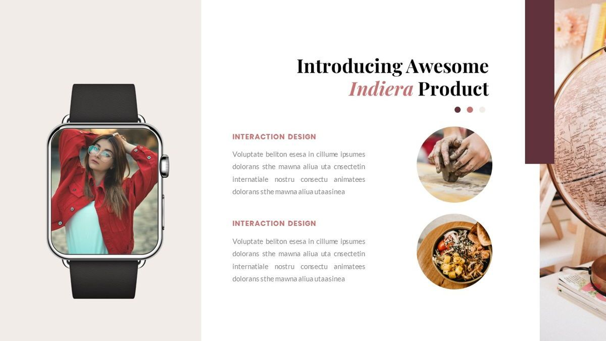 Indiera – Creative Business PowerPoint Template, Slide 32, 06850, Presentation Templates — PoweredTemplate.com