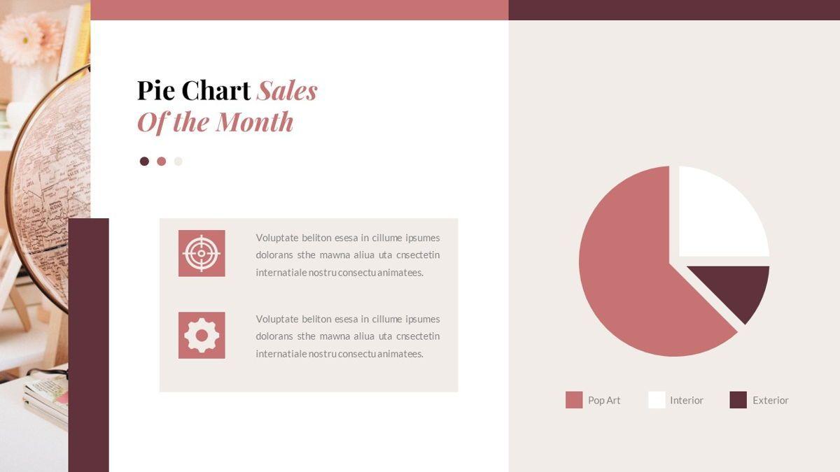 Indiera – Creative Business PowerPoint Template, Slide 35, 06850, Presentation Templates — PoweredTemplate.com