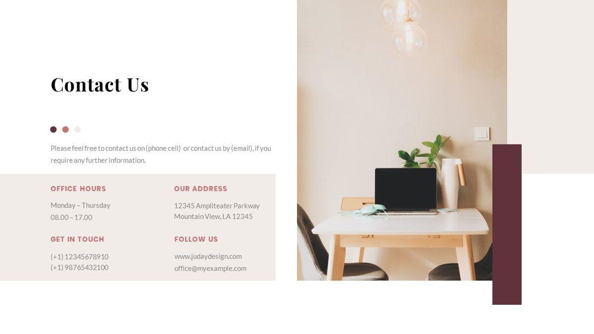 Indiera – Creative Business PowerPoint Template, Slide 39, 06850, Presentation Templates — PoweredTemplate.com
