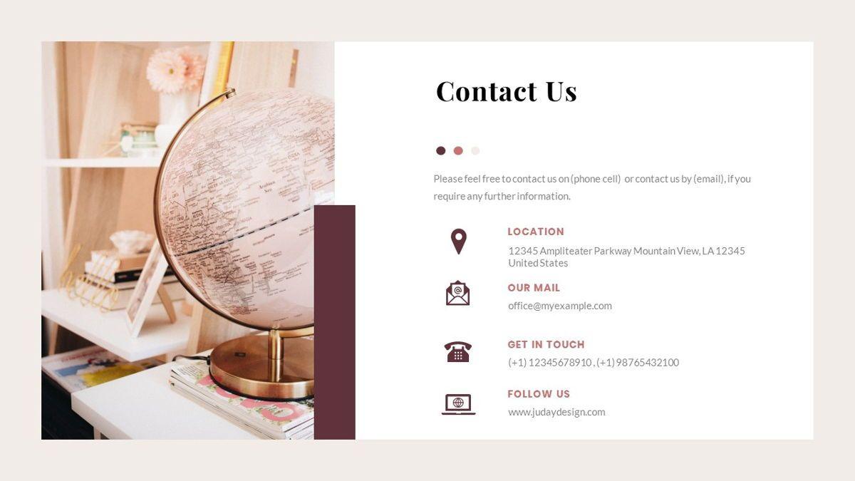 Indiera – Creative Business PowerPoint Template, Slide 40, 06850, Presentation Templates — PoweredTemplate.com