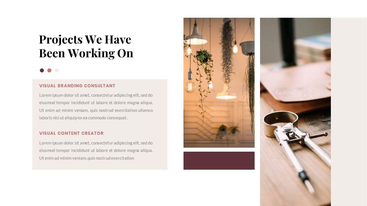 Indiera – Creative Business PowerPoint Template, Slide 7, 06850, Presentation Templates — PoweredTemplate.com