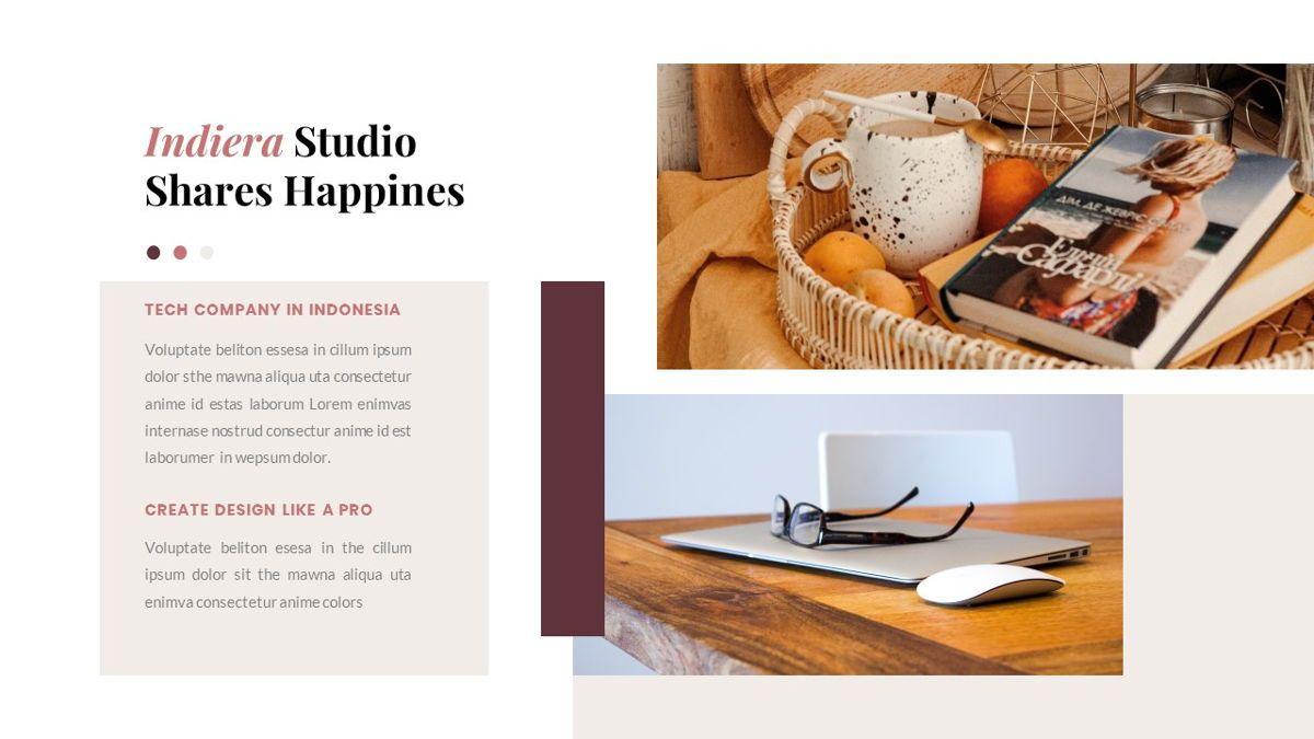 Indiera – Creative Business PowerPoint Template, Slide 9, 06850, Presentation Templates — PoweredTemplate.com