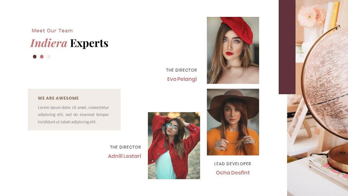 Indiera – Creative Business Google Slides Template, Slide 13, 06852, Presentation Templates — PoweredTemplate.com