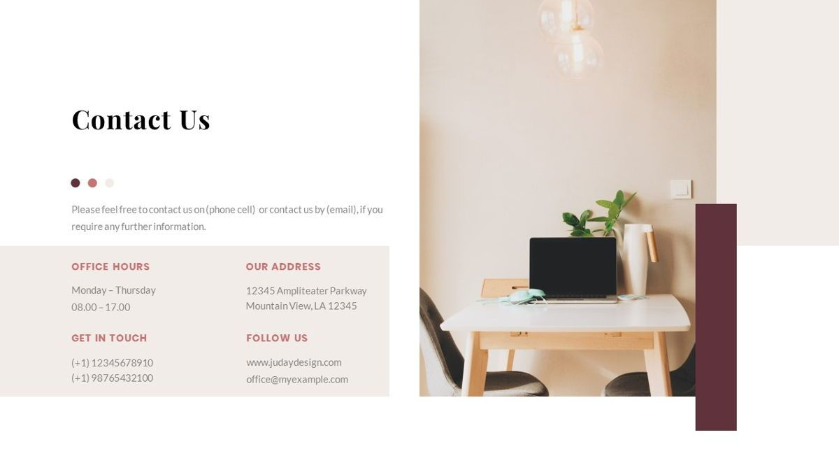 Indiera – Creative Business Google Slides Template, Slide 39, 06852, Presentation Templates — PoweredTemplate.com