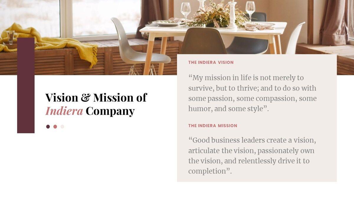 Indiera – Creative Business Google Slides Template, Slide 4, 06852, Presentation Templates — PoweredTemplate.com