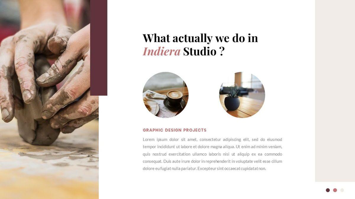 Indiera – Creative Business Google Slides Template, Slide 5, 06852, Presentation Templates — PoweredTemplate.com