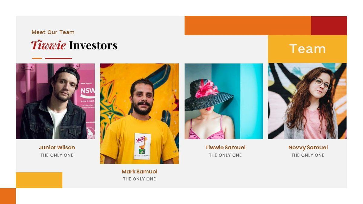 Tiwwie – Creative Business Pop Art PowerPoint Template, Slide 13, 06853, Presentation Templates — PoweredTemplate.com