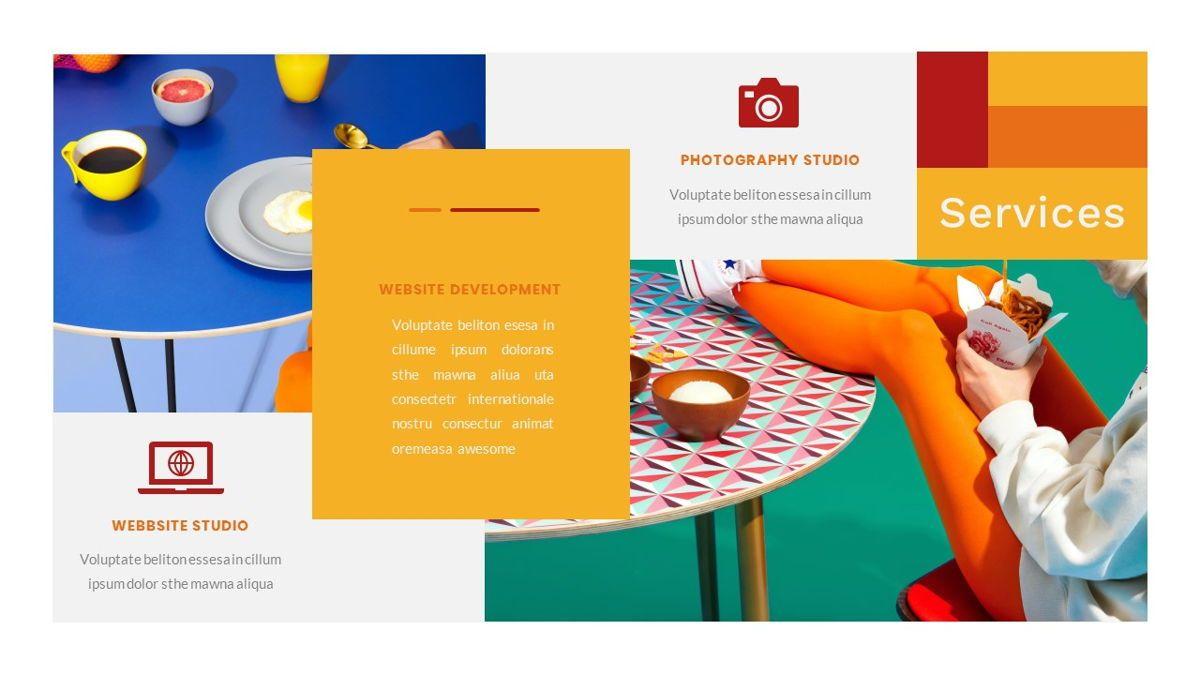 Tiwwie – Creative Business Pop Art PowerPoint Template, Slide 16, 06853, Presentation Templates — PoweredTemplate.com