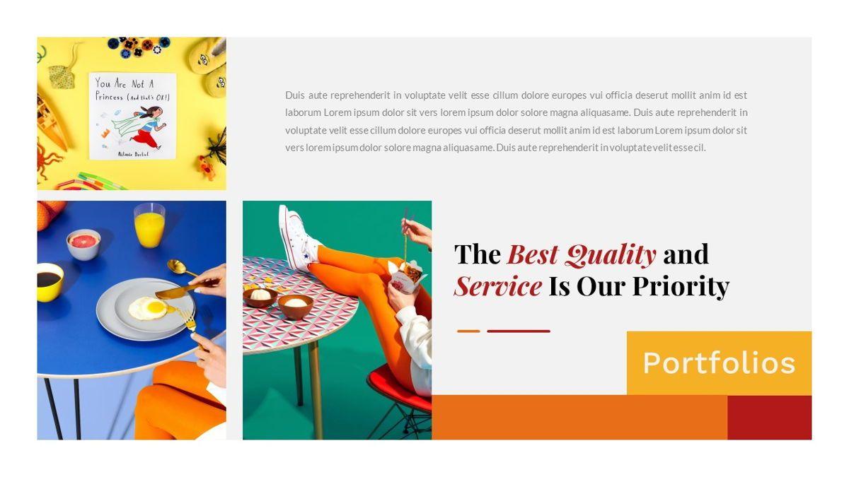 Tiwwie – Creative Business Pop Art PowerPoint Template, Slide 23, 06853, Presentation Templates — PoweredTemplate.com