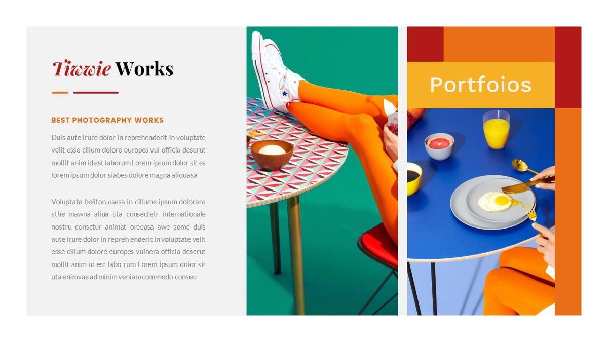Tiwwie – Creative Business Pop Art PowerPoint Template, Slide 25, 06853, Presentation Templates — PoweredTemplate.com