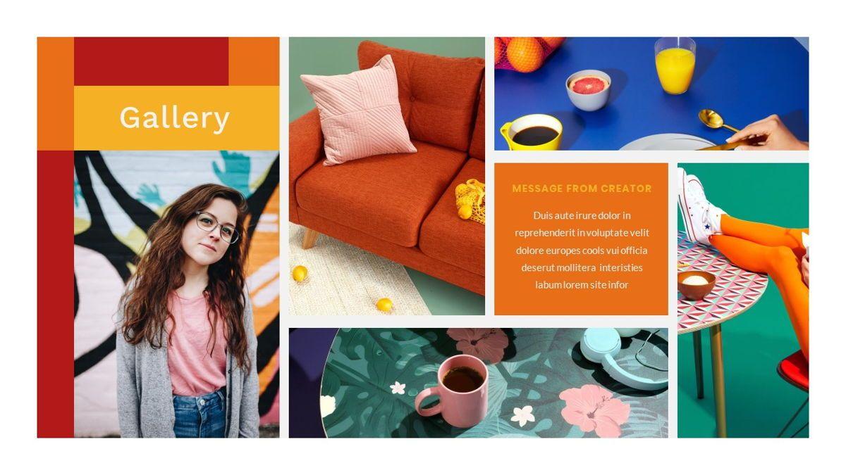Tiwwie – Creative Business Pop Art PowerPoint Template, Slide 27, 06853, Presentation Templates — PoweredTemplate.com