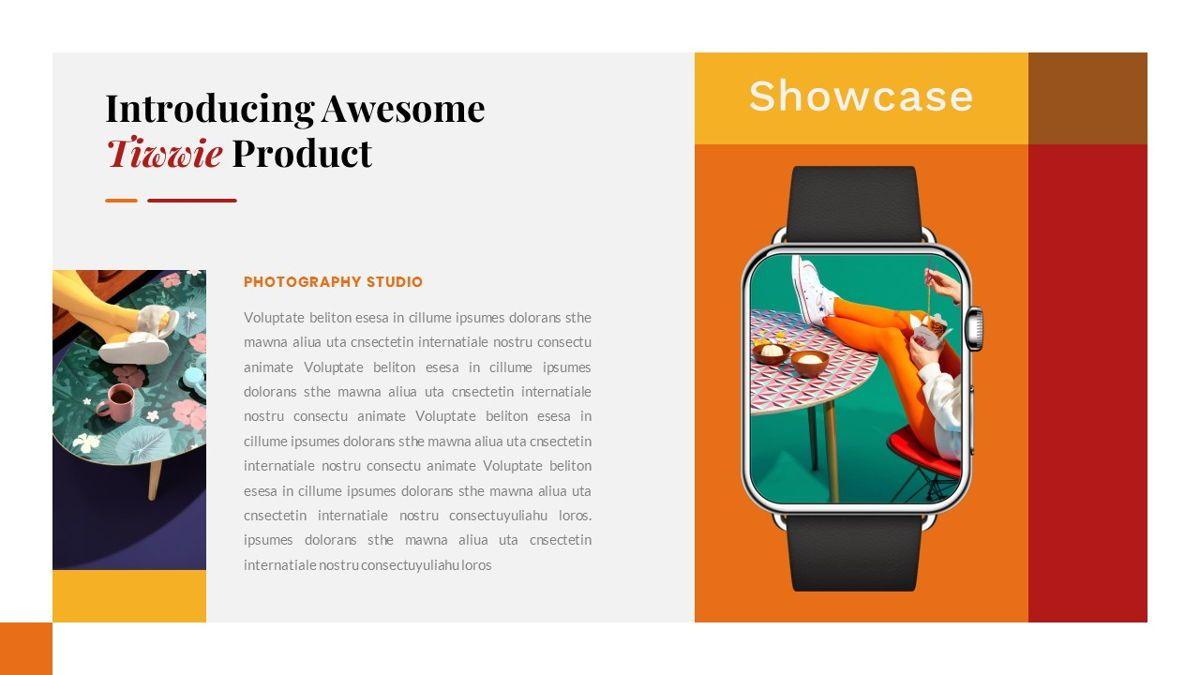 Tiwwie – Creative Business Pop Art PowerPoint Template, Slide 32, 06853, Presentation Templates — PoweredTemplate.com