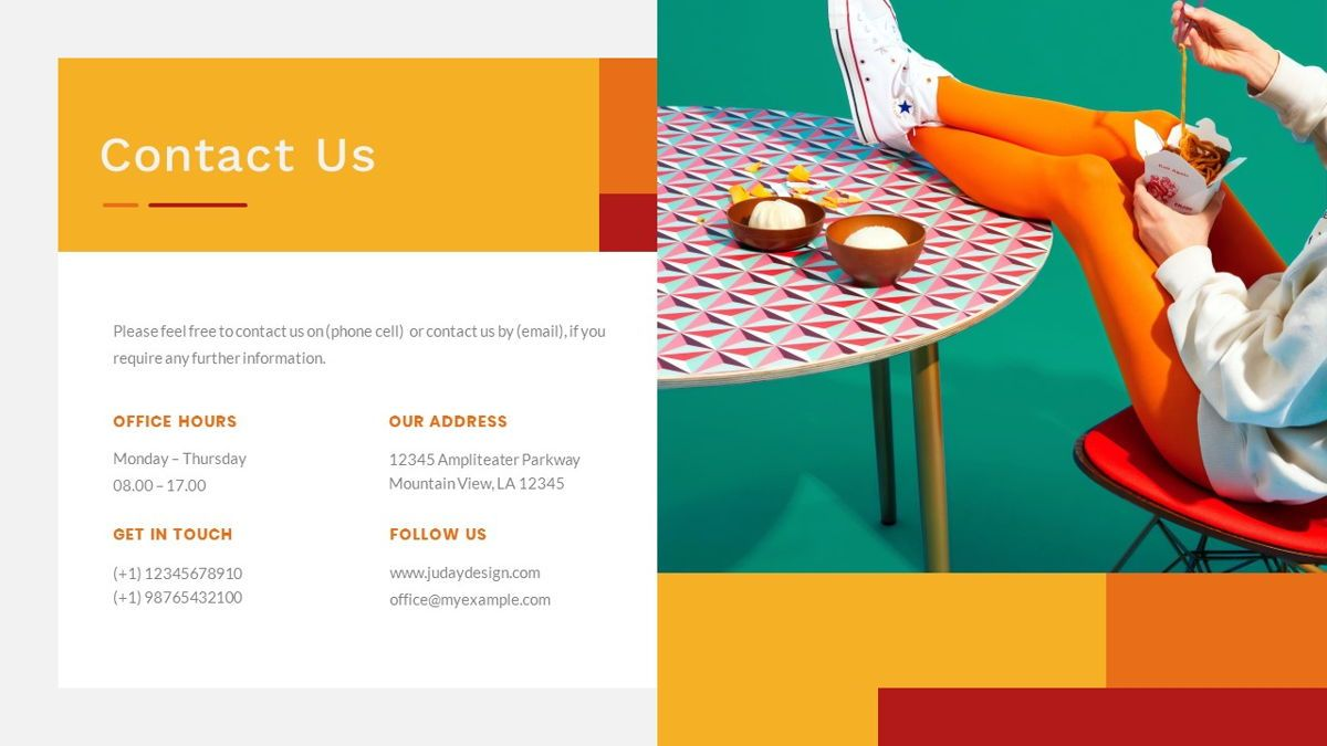 Tiwwie – Creative Business Pop Art PowerPoint Template, Slide 39, 06853, Presentation Templates — PoweredTemplate.com